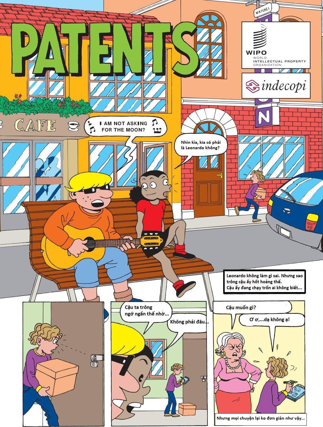 truyện tranh về sáng chế