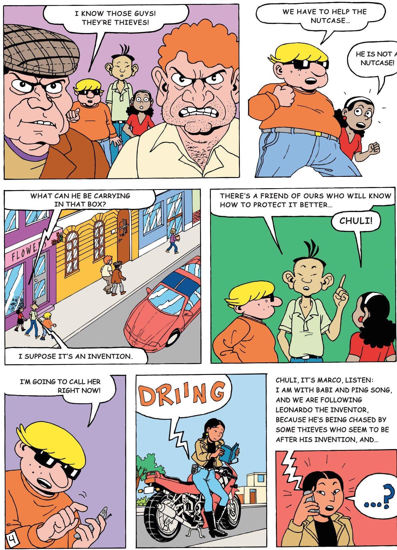 patent cartoons and comics