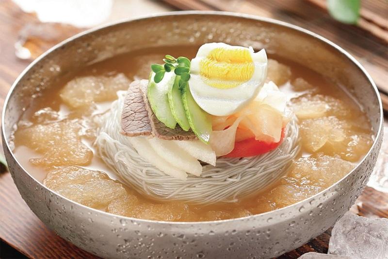 Mỳ lạnh Hàn Quốc