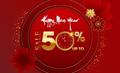 NEW YEAR & NEW DEAL - SALE UPTO 50%