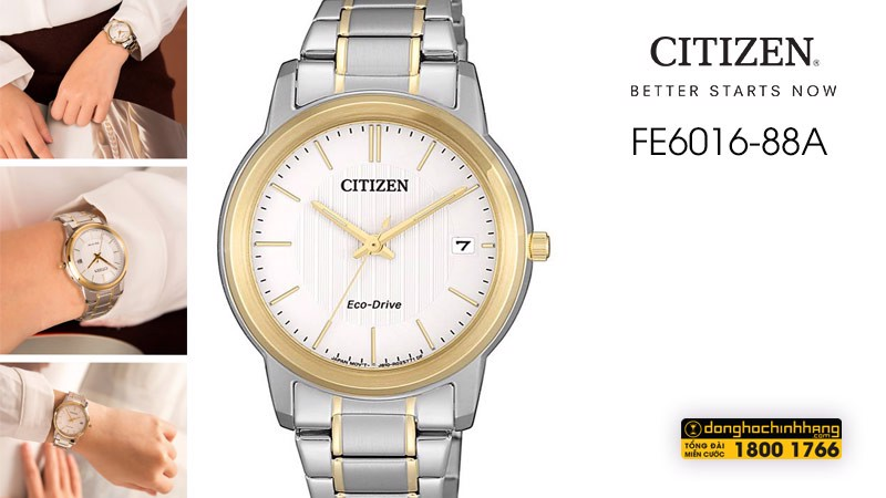 Đồng hồ Citizen FE6016-88A