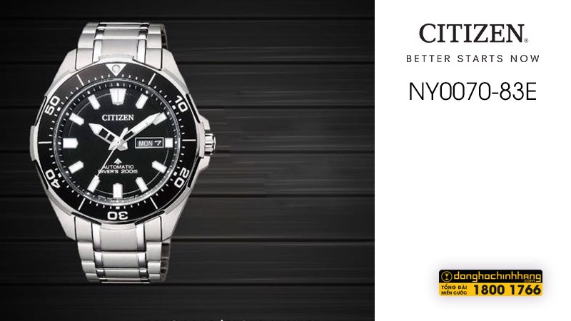Đồng hồ Citizen NY0070-83E