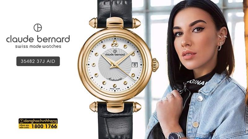 Đồng hồ Claude Bernard 35482 37J AID