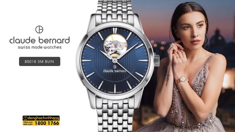 Đồng hồ Claude Bernard 85018 3M BUIN