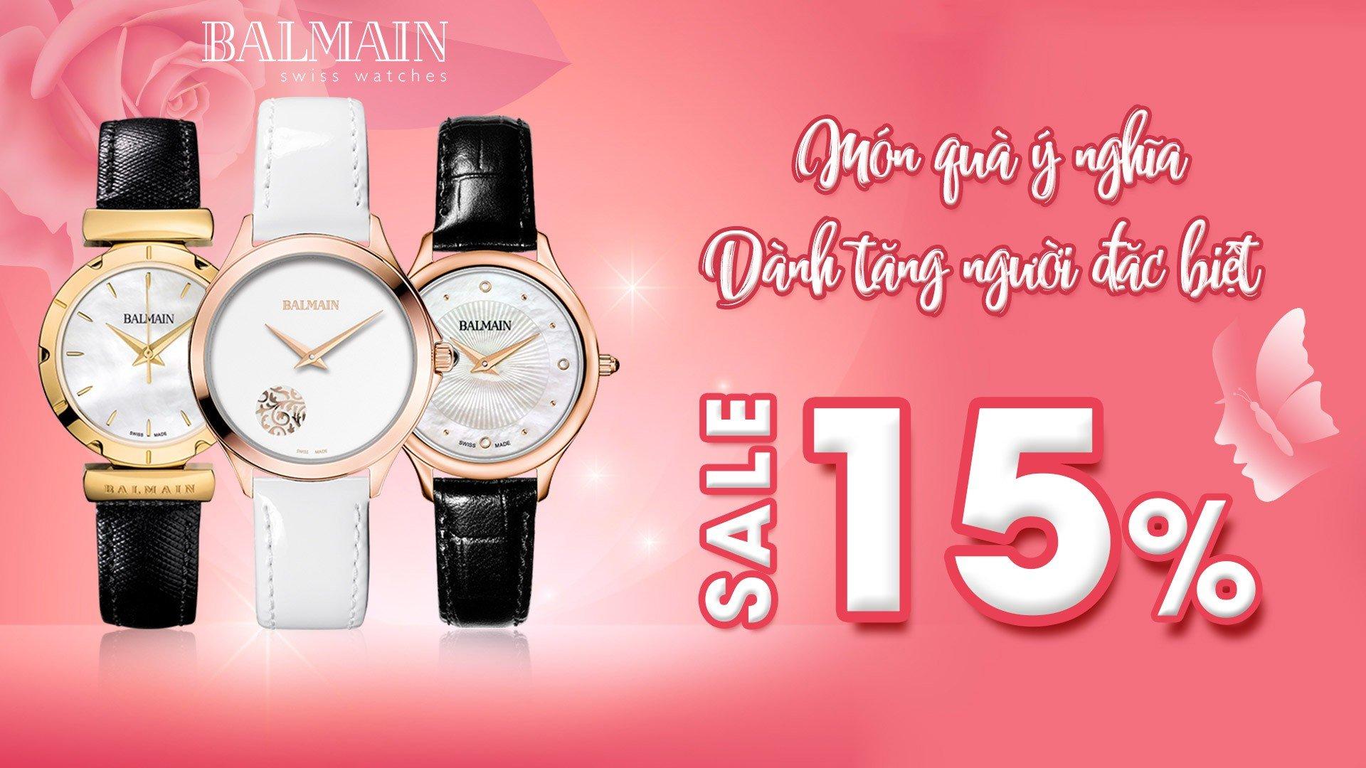 Đồng hồ Balmain