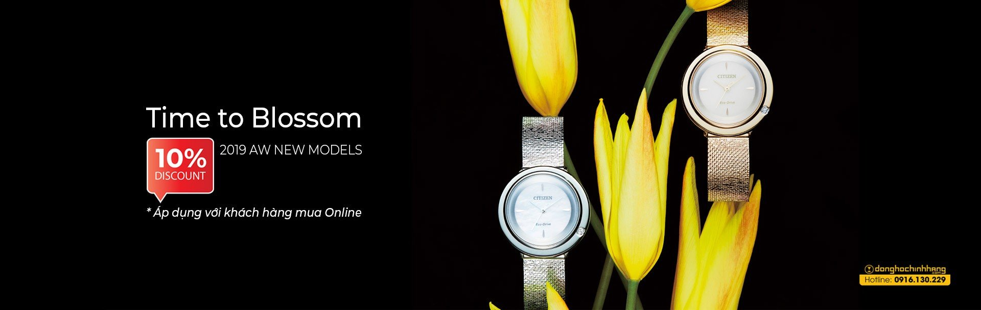 Citizen Time To Blossom