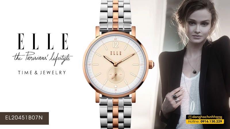 Đồng hồ Elle EL20451B07N