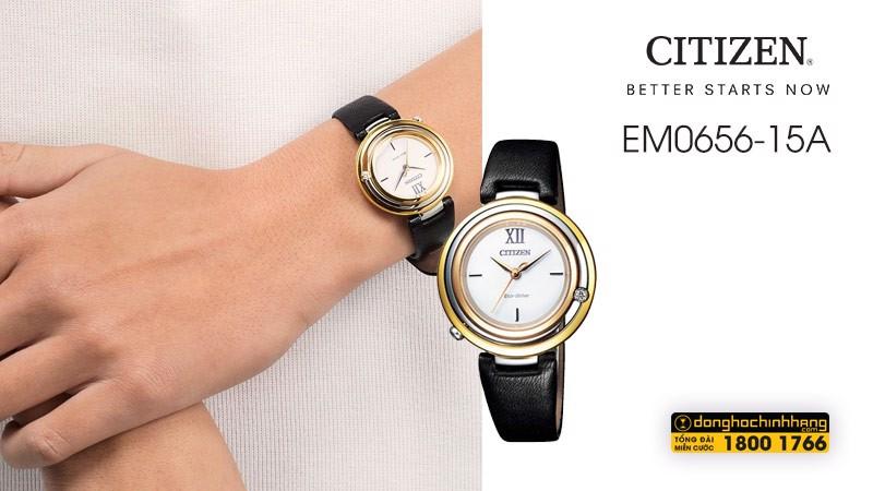 Đồng hồ Citizen EM0656-15A