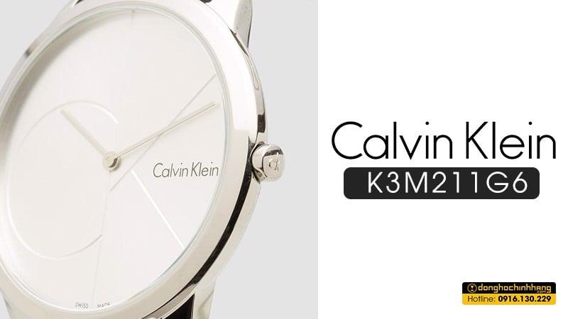 Đồng hồ Calvin Klein K3M211G6