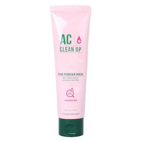 Mặt Nạ Giảm Sưng Mụn Etude House AC Clean Up Pink Powder Mask (100ml)
