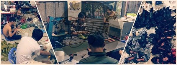 Tigish - Xưởng giày tại bắc ninh chuyên sản xuất và bỏ sỉ giày dép