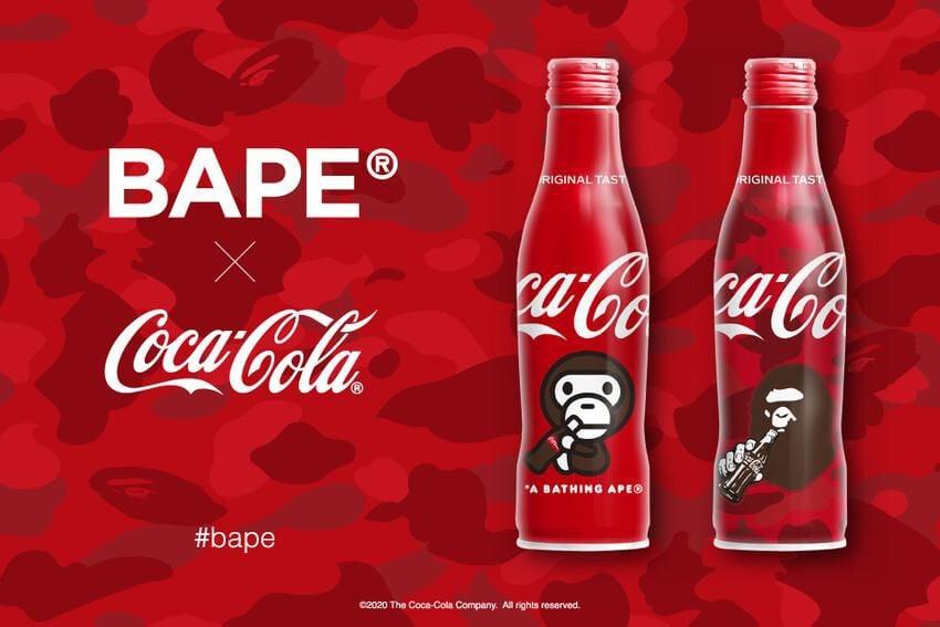 BAPE tái hợp Coca Cola trong phiên bản chai xịn sò