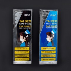 Idigo Washable & Reusable Ear Guard For Face Mask