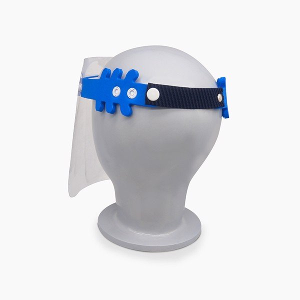 IDIGO Washable & Reusable Face Shield With Headband