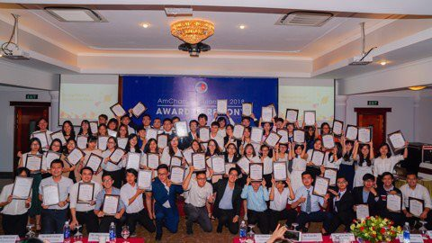 AmCham Scholarship 2018. Significant event honored 60 outstanding students!