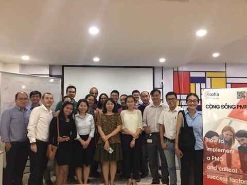 Saigon: How to implement a PMO & critical success factors -4/2018