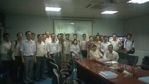 Project Management Professional training - APAVE - Tháng 11, 2014