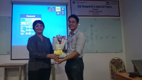 Workshop Risk Management  cho AIT - Tháng 9, 2014