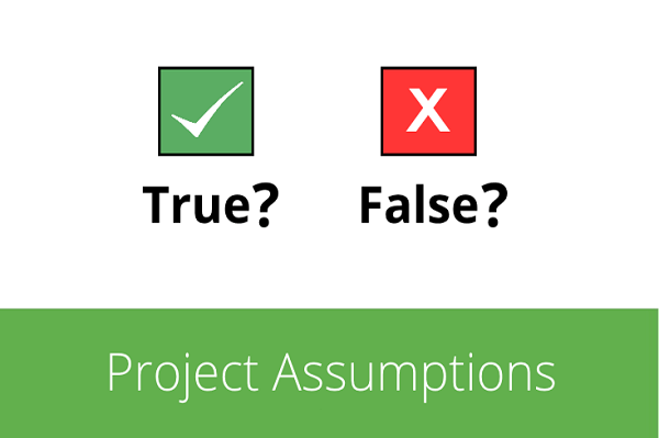 Assumptions (giả định) là một phần quan trọng trong dự án hợp tác