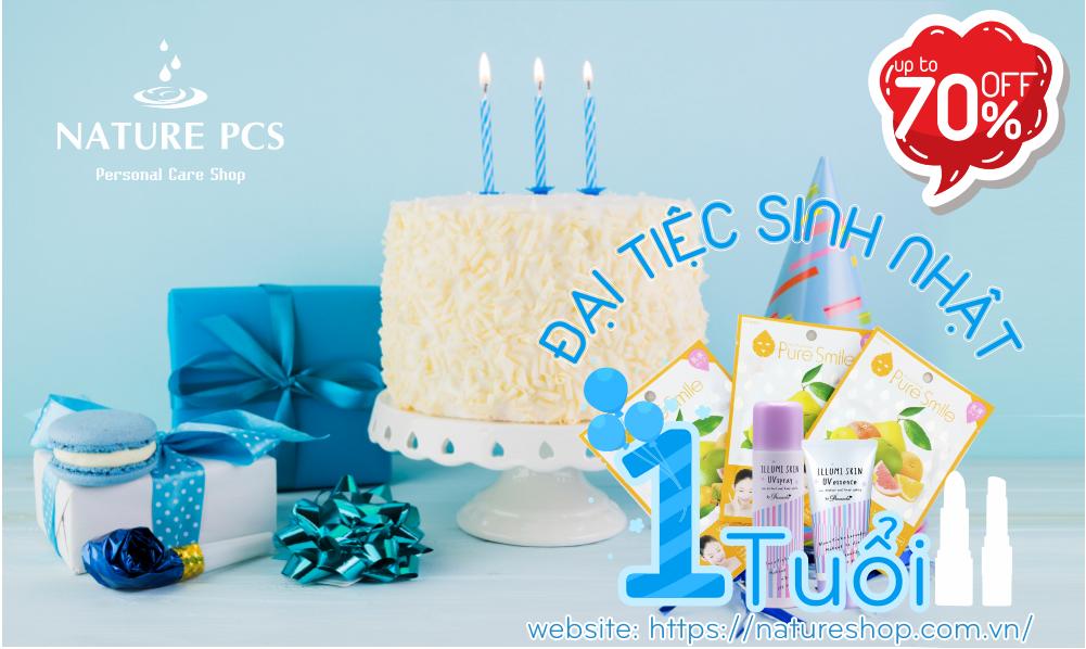 Hân hoan sinh nhật - Ngập tràn quà tặng