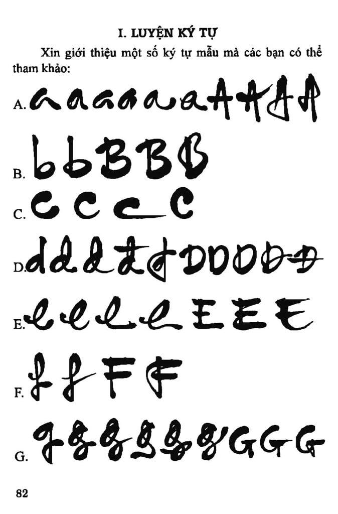Bảng chữ cái của Đăng Học