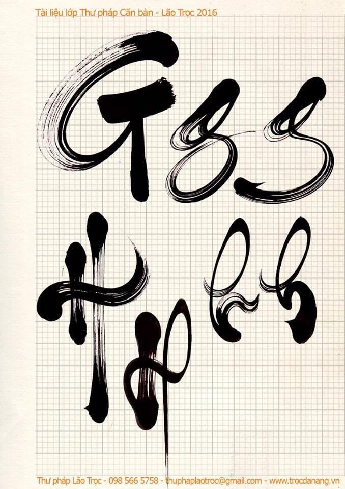 Bảng chữ cái của Lão Trọc