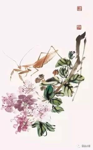 Hướng dẫn vẽ bọ ngựa tranh thủy mặc