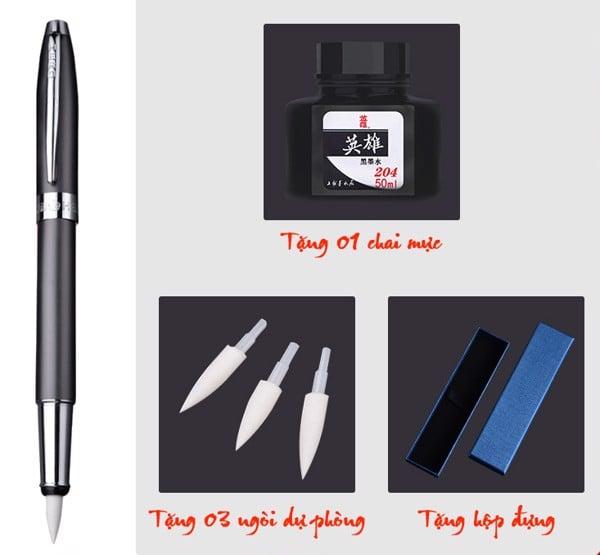Bút bơm mực ngòi mềm hãng Hero 1080