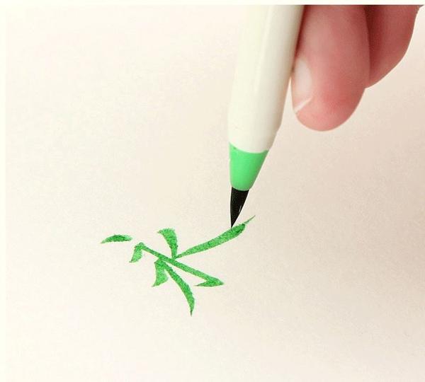 Bút lông, bút ngòi mềm Nhật Bản viết thư pháp, hội họa