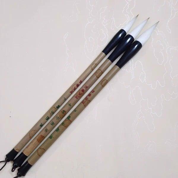 Bút lông thư pháp như ý kiêm hào thượng thư