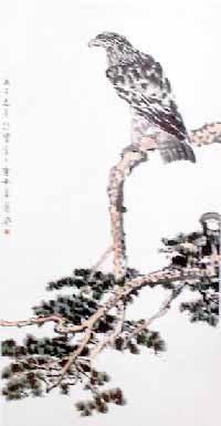 Chim ưng và tùng-tranh Từ Bi Hồng (1895-1953)