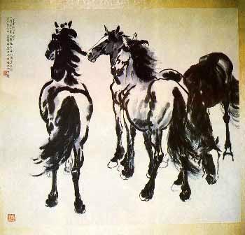 Tranh của Từ Bi Hồng (1895-1953)