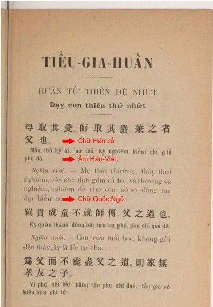 Phân biệt khái niệm chữ Hán, chữ Nôm và chữ Quốc ngữ
