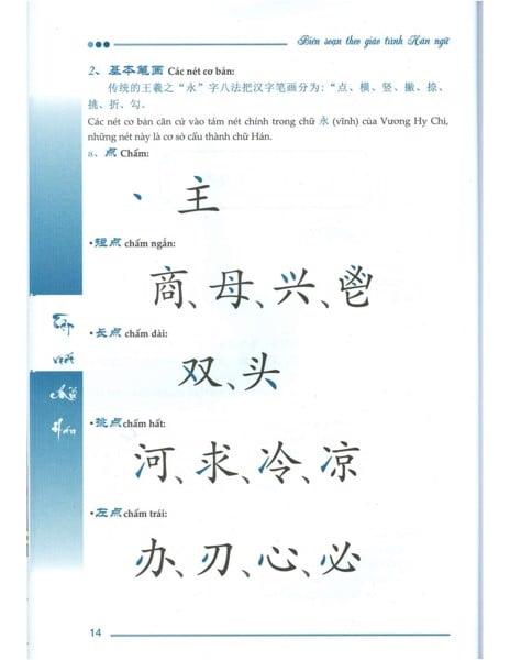 Chia sẻ miễn phí Sách Tập Viết Chữ Hán