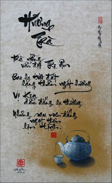 Tác phẩm Hương Trà của Đăng Học