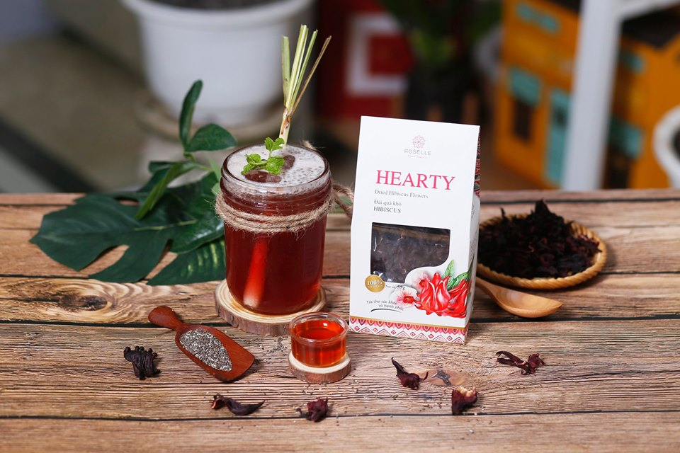 Hibiscus Tea Chia Seeds