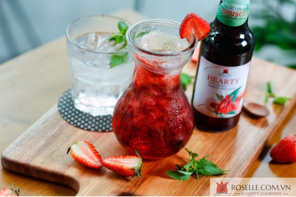 Món Ngon Hibiscus: Hibiscus Strawberry – Maison Roselle