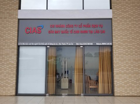 CIAS's FIRST DUTY FREE STORE AT KIM THANH INTERNATIONL BORDER GATE, LAO CAI