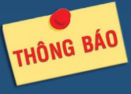 TB v.v Thay đổi nội dung đăng ký doanh nghiệp