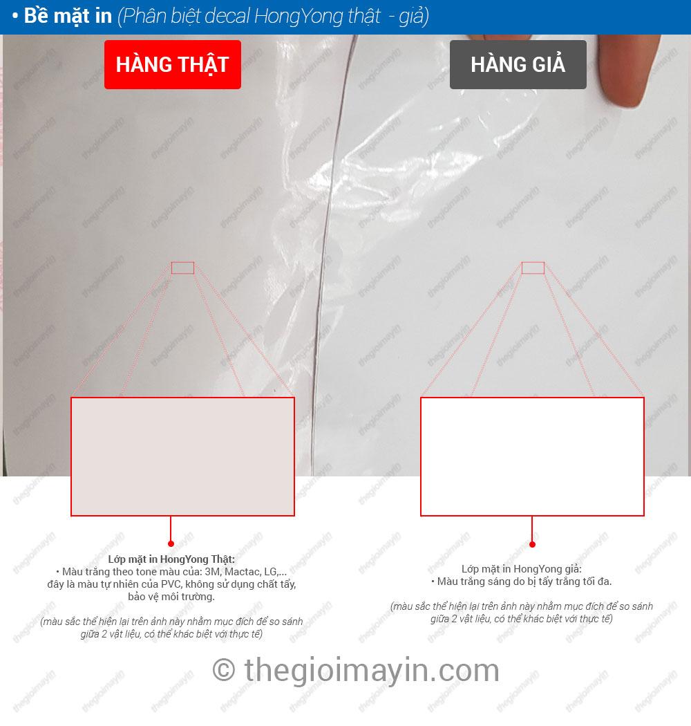 Cách phân biệt decal HongYong thật và decal HongYong giả 09