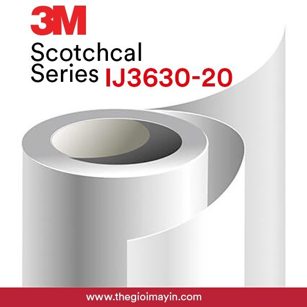 Decal 3M xuyên sáng IJ3630-20 3M™ Scotchcal™ Translucent Graphic Film IJ3630