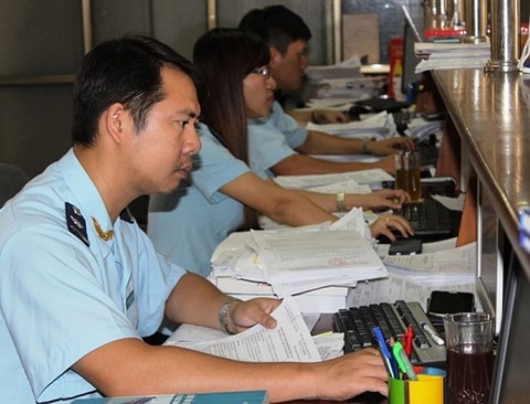 Expanding the e- tax payment program 24/7: Customs will transfer tax payment information