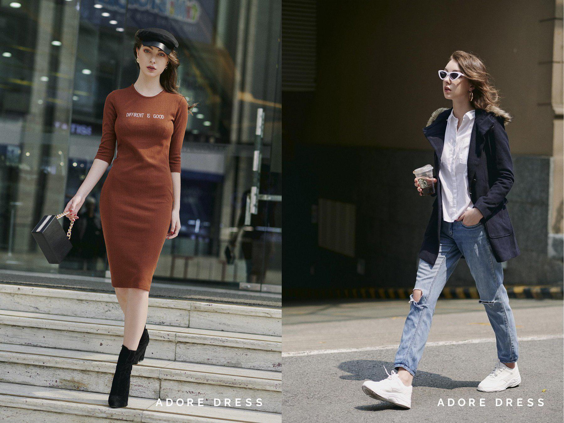 2 outfit dễ mặc bất chấp cái lạnh mùa đông