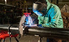 Kẹp căn chỉnh ống| Giá đỡ ống| Con lăn ống: Các loại dụng cụ thi công hàn ống !