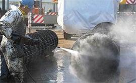 Giải pháp làm sạch ống trao đổi nhiệt bình ngưng - bộ Chiller