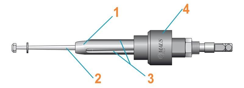cấu tạo đầu nong ống đồng ống thép
