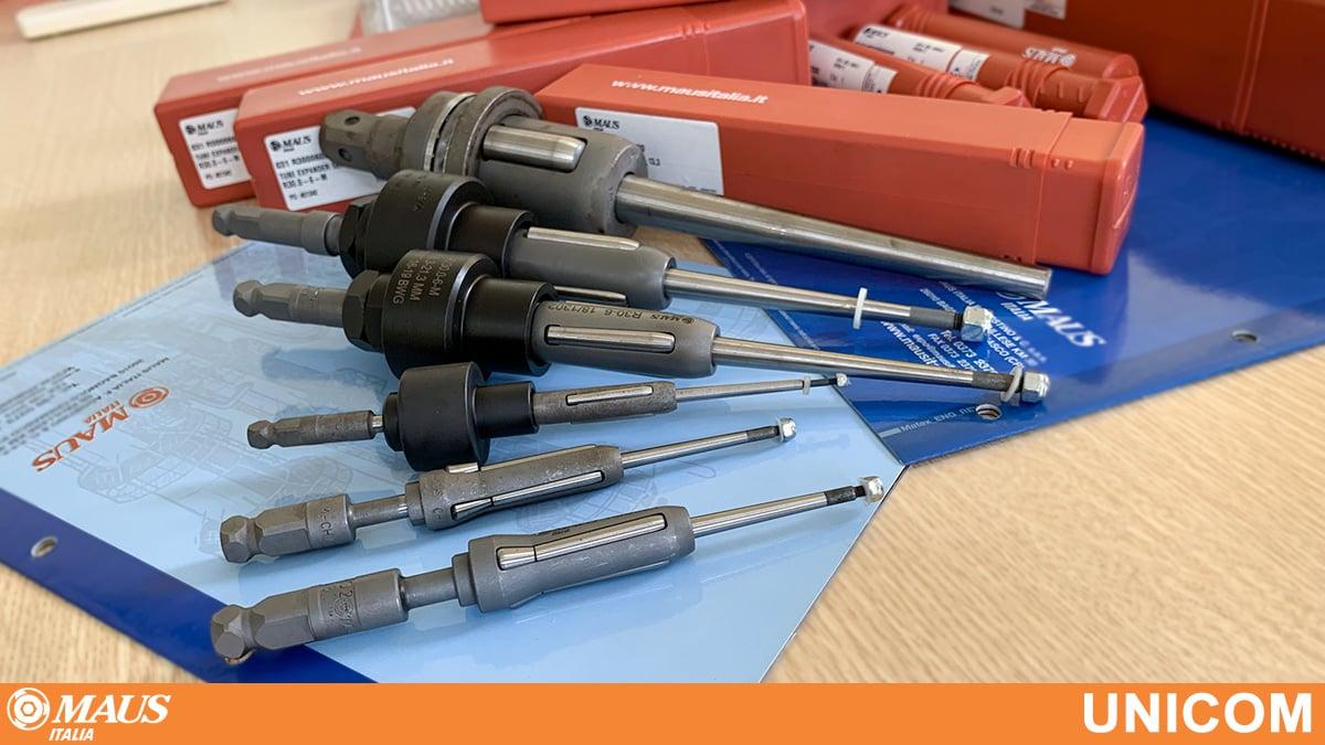 đầu nong ống các loại cho thiết bị trao đổi nhiệt ống chùm