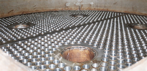 làm sạch ống trao đổi nhiệt bình ngưng