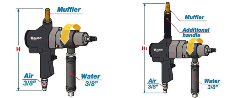 thông số kỹ thuật máy làm sạch ống trao đổi nhiệt