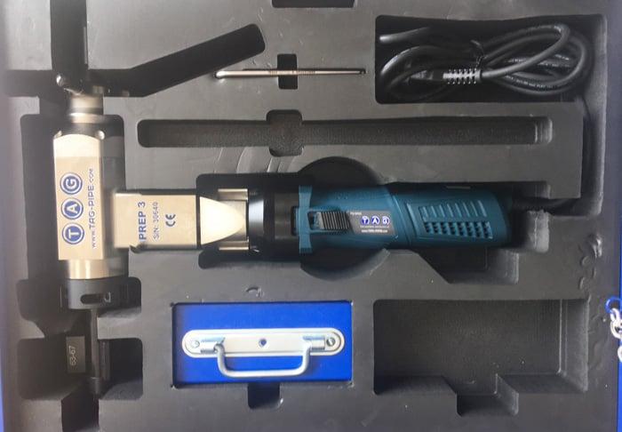 máy vát mép ống thép cầm tay